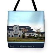 12000 Sf House Tote Bag by Renee Trenholm