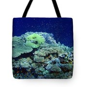 Underwater Landscape Tote Bag