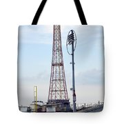 13 Year Old Pitching At Coney Island Cyclones Stadium Tote Bag