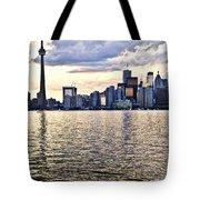 Toronto Skyline Tote Bag by Elena Elisseeva