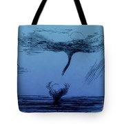 Waterspout Tote Bag