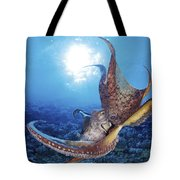 Hawaii, Day Octopus Tote Bag