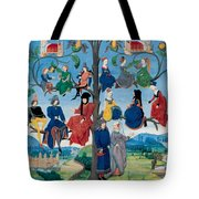 15th-century Family Tree Tote Bag