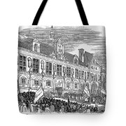 France: Revolution Of 1848 Tote Bag