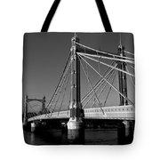 The Albert Bridge London Tote Bag