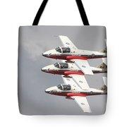 The Snowbirds 431 Air Demonstration Tote Bag