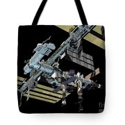 Computer Generated View Tote Bag by Stocktrek Images