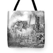 France: Revolution Of 1848 Tote Bag