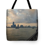 View From Battery Park City Tote Bag