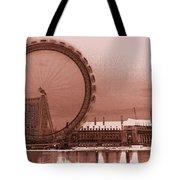 London Eye Art Tote Bag