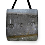 1886 God Is Love Stone Tote Bag