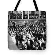 Franklin Delano Roosevelt Tote Bag