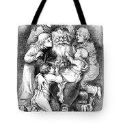 Thomas Nast: Santa Claus Tote Bag by Granger