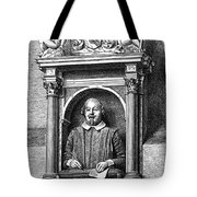 William Shakespeare Tote Bag