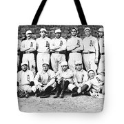 1902 Philadelphia Athletics Tote Bag by Bill Cannon