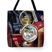 1907 Stanley Steamer - Lantern Tote Bag by Kaye Menner