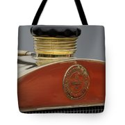 1908 Mercedes 150 Hp Race Car Hood Emblem Tote Bag