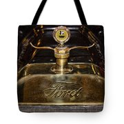 1915 Model-t Ford Hood Ornament Tote Bag