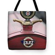 1916 Stutz Series B Bearcat Hood Ornament Tote Bag