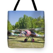 1917 Nieuport 28c.1 World War One Antique Fighter Biplane Canvas Poster Print Tote Bag
