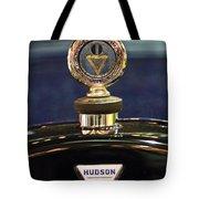 1920 Hudson Super 6 Touring Hood Ornament Tote Bag