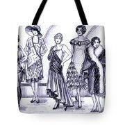 1920s British Fashions Tote Bag