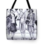1920s Styles Tote Bag