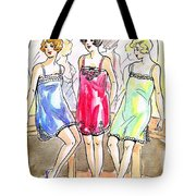 1920s Teddies Tote Bag