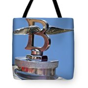 1927 Bentley 6.5 Liter Sports Tourer Hood Ornament Tote Bag
