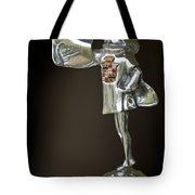 1929 Cadillac 1183 Dual Cowl Phaeton Hood Ornament Tote Bag