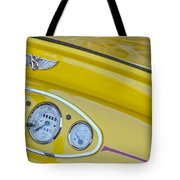 1929 Ford Model A Roadster Dashboard Instruments Tote Bag