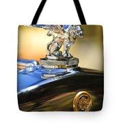 1929 Gardner Series 120 Eight-in-line Roadster Hood Ornament Tote Bag