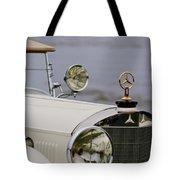 1929 Mercedes-benz S Tourer Hood Ornament Tote Bag