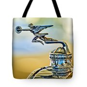 1929 Packard Hood Ornament Tote Bag