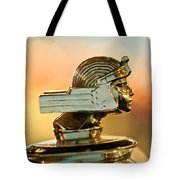 1929 Stutz Series M Four-passenger Dual-cowl Speedster Hood Ornament  Tote Bag