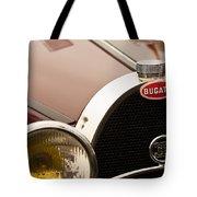 1931 Bugatti Type 55 Roadster Grille Emblem Tote Bag