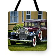 1931 Cadillac V12 Tote Bag
