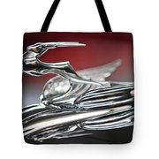 1931 Chrysler Cg Imperial Roadster Hood Ornament Tote Bag