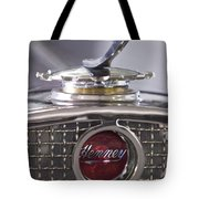 1931 Henney 2-passenger Convertible Hood Ornament Tote Bag