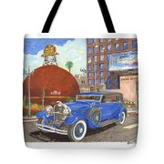 1931 Lincoln K Dietrich Phaeton Tote Bag