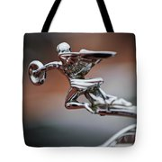 1931 Packard Deluxe Eight Roadster Hood Ornament Tote Bag