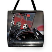 1932 Ford Roadster Fuzzy Dice Tote Bag