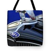 1932 Ford V8 Hood Ornament Tote Bag