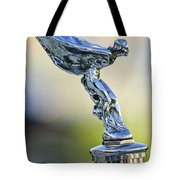 1932 Rolls-royce Phantom II Sedanca De Ville Hood Ornament Tote Bag