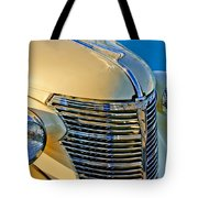 1933 Chevrolet Grille And Headlights Tote Bag