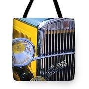 1933 Fiat Balilla Grille Tote Bag