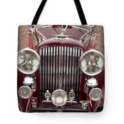 1934 Bentley 3.5-litre Drophead Coupe Grille Tote Bag