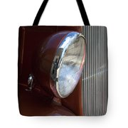 1934 Ford Headlight And Grill Tote Bag