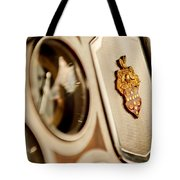 1934 Packard 1104 Super Eight Phaeton Emblem Tote Bag by Jill Reger