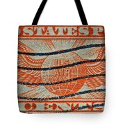 1934 U. S. Air Mail Dull Orange Stamp Tote Bag